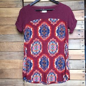 Anthropologie Meadow Rue Solvo Tunic